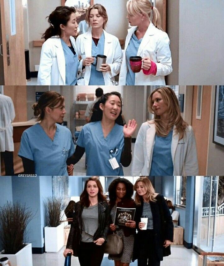Personally I Like Meredith Best With Amelia And Maggie Ga