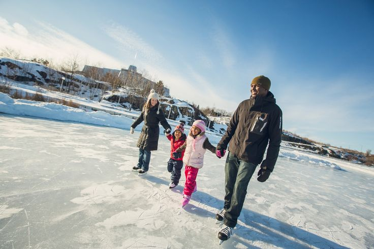Winter's almost here! Check out the top five winter activities to have some BIG winter fun in the north!