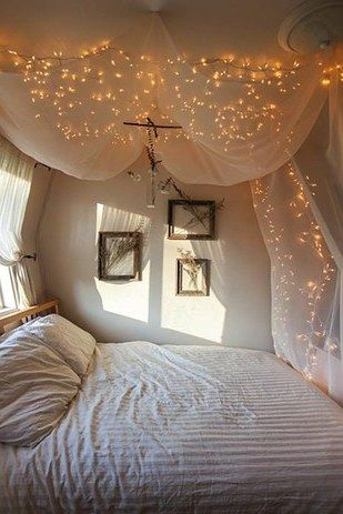 502 best gem tliche schlafzimmer images on pinterest - Himmelbett diy ...