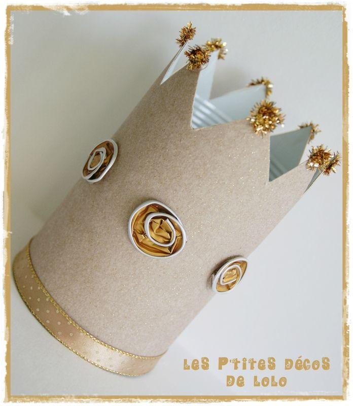 DIY �piphanie : une couronne en conserve