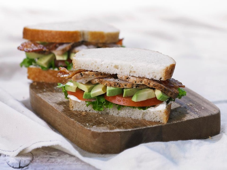 Panera Bread's New Roasted Turkey & Avocado BLT:  All-natural roasted turkey, Applewood-smoked bacon, lettuce, tomato and fresh avocado with reduced-fat olive oil mayo on freshly baked sourdough.