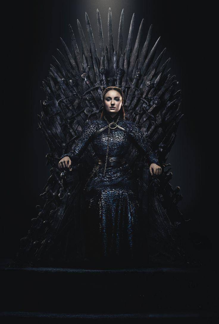 Постер железный трон