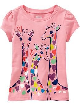 Graphic Tees for Baby | Old Navy Oopsy Daisy Pink 2T