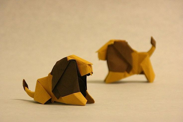 Origami Lion by ~GEN-H on deviantART  No instructions :(