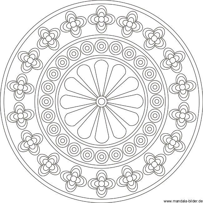 Mandala für Erwachsene zum Ausdrucken