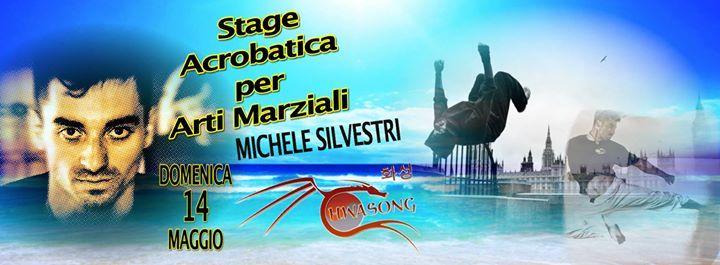 Stage Acrobatica Arti Marziali con Michele Silvestri @ HWASONG - Associazione Sportiva - Haidong Gumdo (spada coreana) -Taekwondo - 14-Maggio https://www.evensi.it/stage-acrobatica-arti-marziali-con-michele-silvestri/209531367