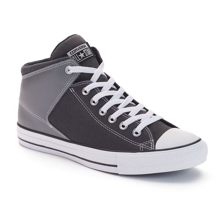 Men's Converse Chuck Taylor All Star High Street Shoes, Size: M10W12, Grey