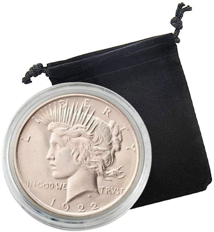 Coin Collector 1922 or 1923 Uncirculated Silver Peace Dollar