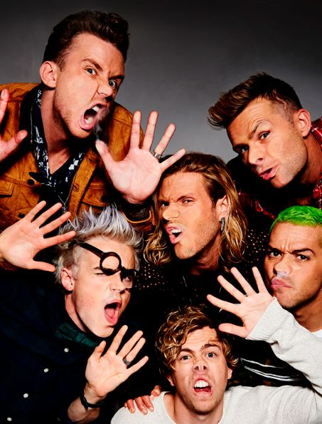 McBusted on tour 2015.