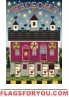 Lancaster Barn Welcome Garden Flag - 3 left