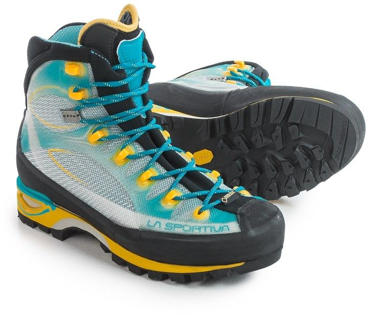 La Sportiva Gore-Tex® Trango Cube Mountaineering Boots - Waterproof (For Women). Snow boot fashions. I'm an affiliate marketer. When you click on a link or buy from the retailer, I earn a commission.