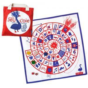 DEUZ(デューズ),  Game of the Goose フランス版すごろく  www.bcbasics.com