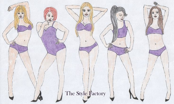 Types of female figure - what to wear and what to avoid // thestylefactory.pl //