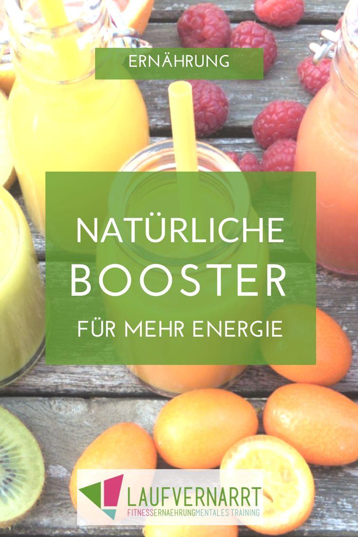 15 natürliche Lebensmittel, die deine Energie und deine Regeneration steigern. Schluss mit künstlichem Booster - Platz für die Kraft der Natur!