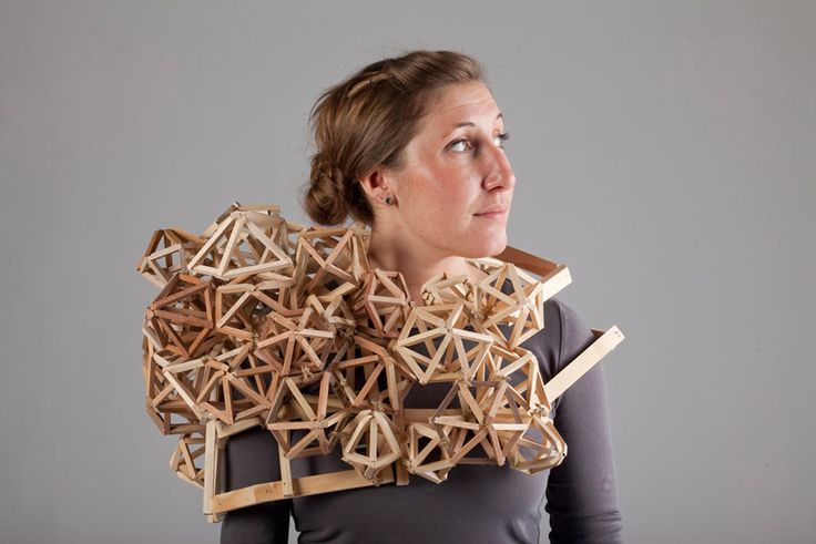 Wearable Sculptures by Tracy Featherstone