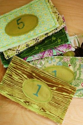 Fabric play money