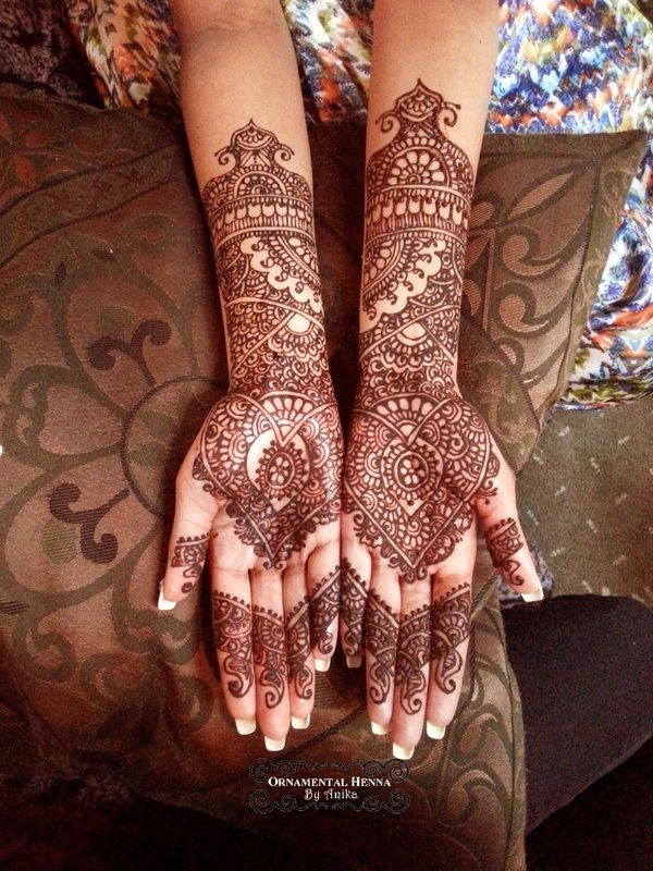 bridal henna - Ornamental Henna