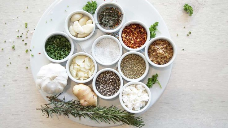 Herbs and Spices at Hurricane's Grill Bondi Beach