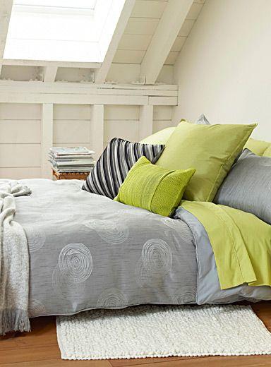 Magasinez des couettes couvertures et couvre lits en for Housse couette simons