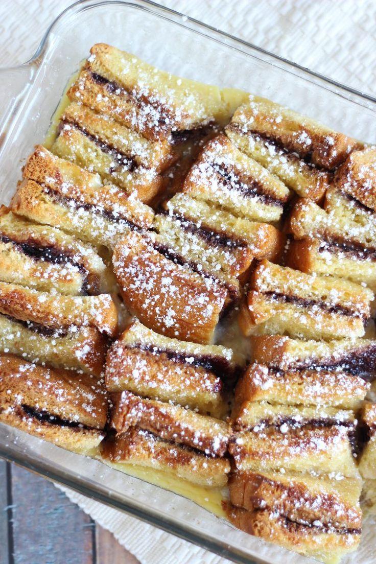 Peanut Butter & Jelly Bread Pudding – Dan330