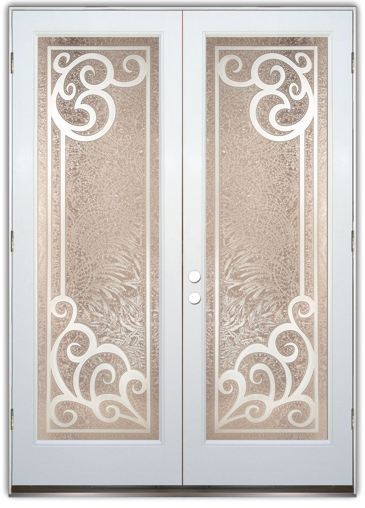 53 best doors images on pinterest etched glass glass for Etched glass doors