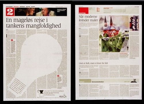 newspaper design layout travel section - Google Search