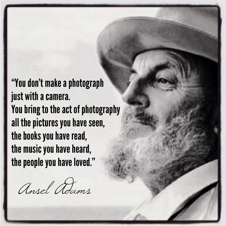 True words; applies to any art making process/medium.....Ansel Adams