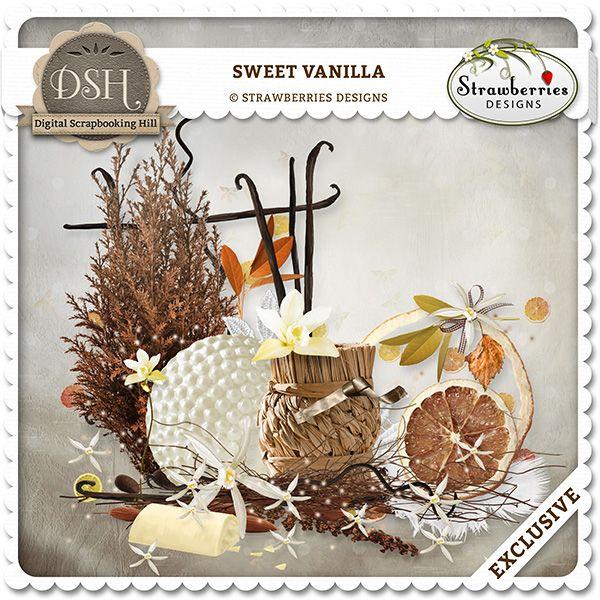 Sweet Vanilla : Digital Scrapbooking Hill.com