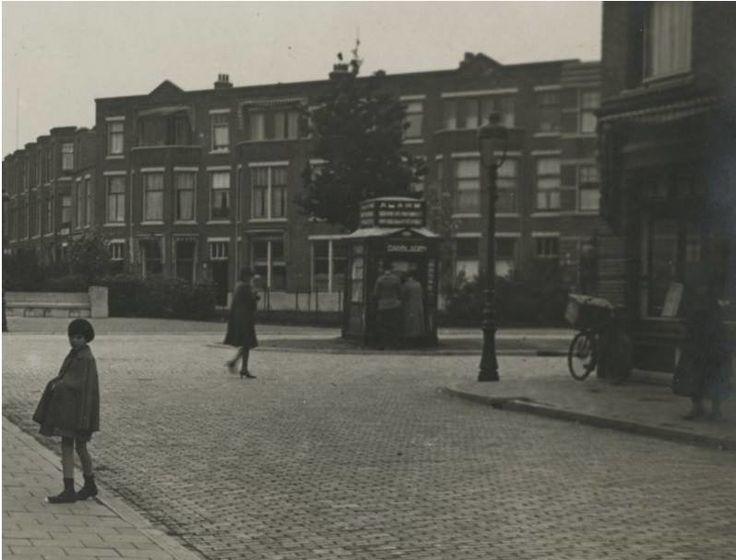 Het Thomsonplein omstreeks 1930