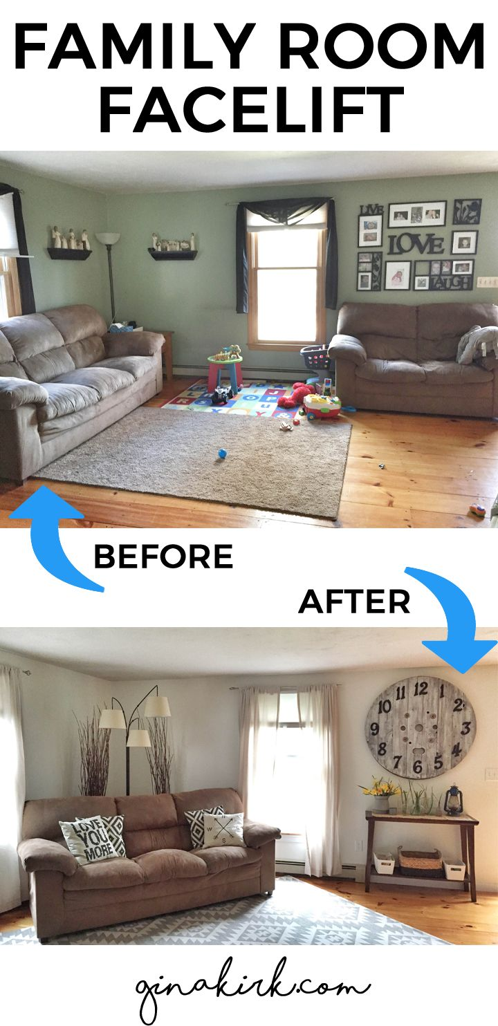 A Living Room Redo With A Personal Touch Decorating Ideas: Best 25+ Farmhouse Family Rooms Ideas On Pinterest