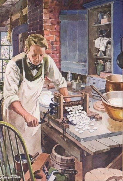"""In 1847, Oliver Chase invented a machine to cut candy wafers, and the abomination called the """"hub wafer"""" was born   21 Things You Didn't Know About NECCO Wafers"""