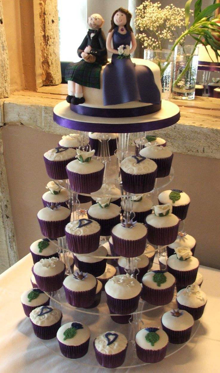 54 best images about Purple Themed Wedding Cakes on