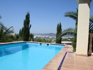 Beautiful villa with view to IbizaHoliday Rental in Ibiza Town from @HomeAway UK #holiday #rental #travel #homeaway