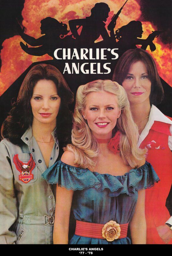 Charlie's Angels.  Cheryl Ladd was my favorite, and I wore my hair like this.