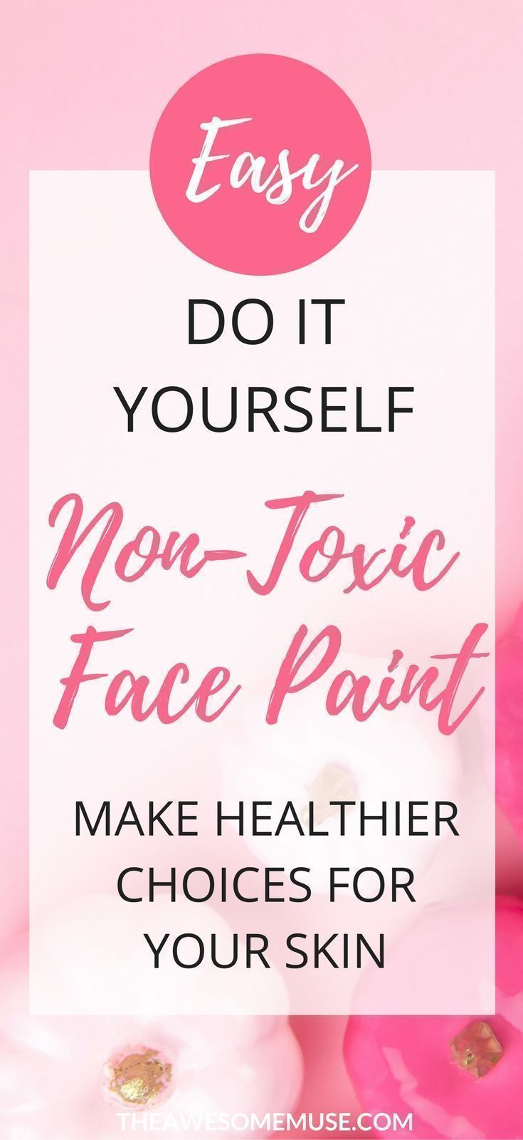 You can make non-toxic face paint easily yourself with this simple recipe diy. non-toxic face paint | face paint recipe | make face paint | facepaint for football games | how to make facepaint | facepainting ideas | facepaint halloween | facepaint ideas for kids | face painting easy | face painting adults #facepaintingideasforadults #howtofacepaint