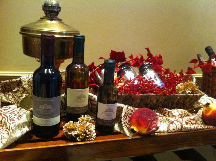 #Wine #Christmas14 celebration! #ThermaeSylla #XmasDecorations