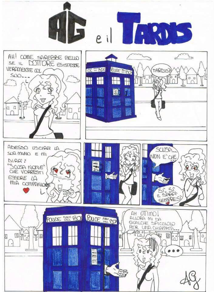 Fumetto dedicato a #doctorwho