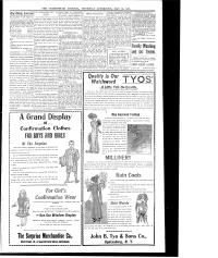 The Ogdensburg journal. (Ogdensburg, N.Y.) 1868-1916, May 12, 1910, Page 4, Image 4, brought to you by Northern NY Library Network, and the National Digital Newspaper Program.