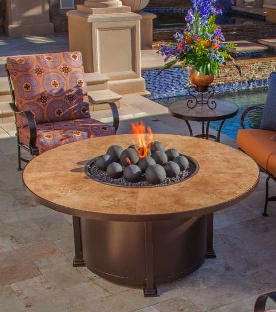 Santorini Fire Pits! Perfect For Gathering With Family And Friends!