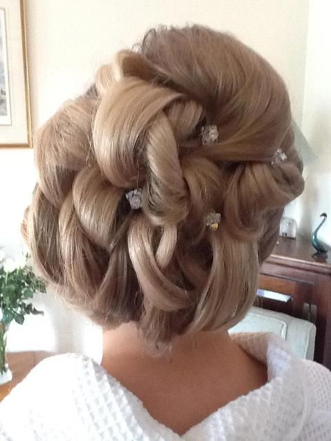 wedding hair #beads www.brayola.com