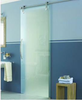 Puertas corredizas en baños