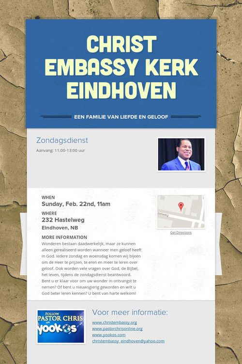 Christ Embassy Kerk Eindhoven