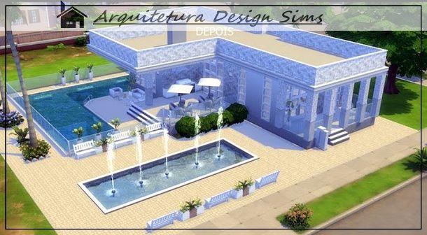 Casas,lotes e sets para seus Sims você encontra aqui