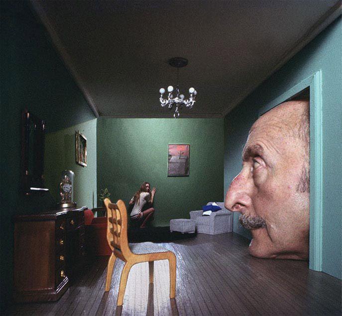 "Ryszard Horowitz Photocomposer - Analog Portfolio  ""Fake Dali"""