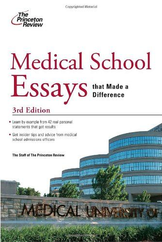 Best med school essays