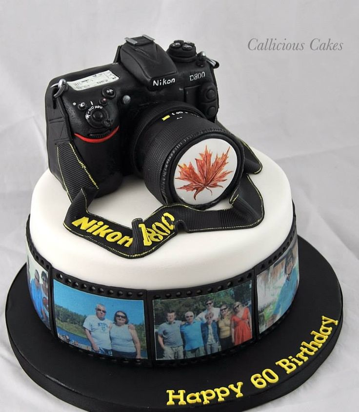 Camera Cake Topper Tutorial