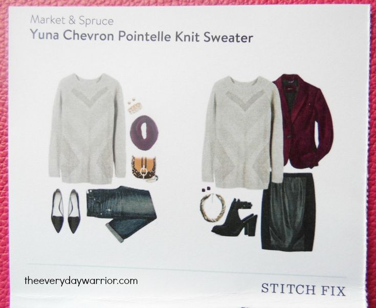 Knitting Extra Stitch Fix : Stitch Fix Review #18: January 2016 Knit sweaters, Subscription boxes and T...