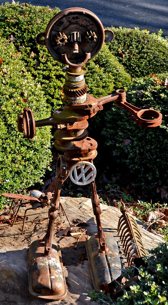Yard Art Soque River Home