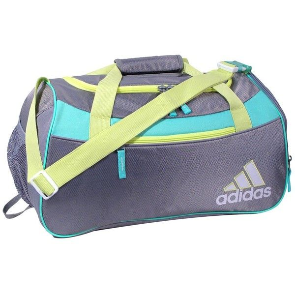 adidas Women's Squad II Duffel Bag (51 CAD) ❤ liked on Polyvore featuring bags, sports duffel bag, adidas, sport bag, sport duffle bag and duffel bags