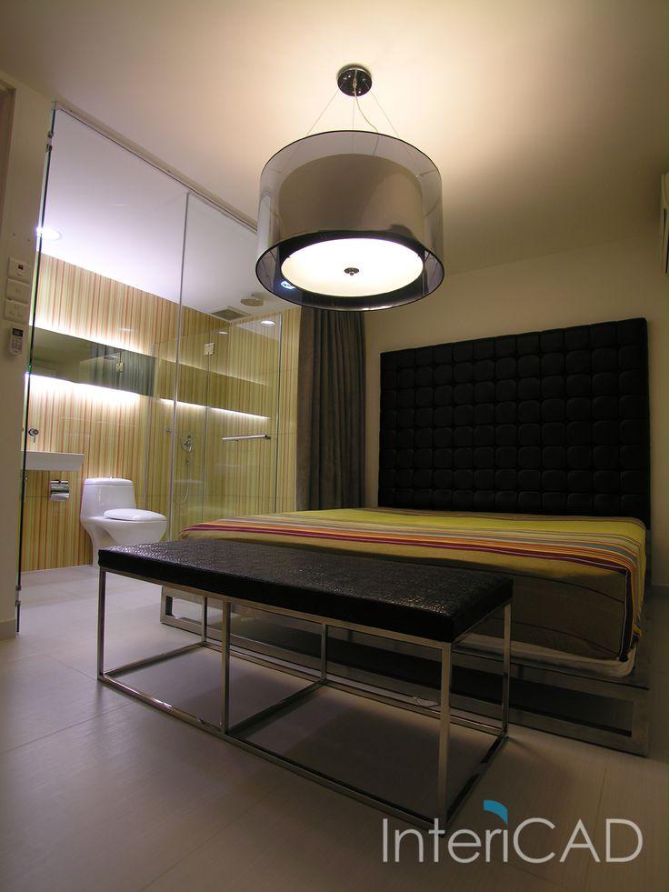 projekt sypialni w InteriCAD